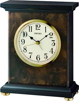 Seiko Настольные часы Seiko QXE056BN. Коллекция Настольные часы nixon часы nixon a934 2042 коллекция minx