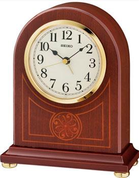 Seiko Настольные часы Seiko QXE057BN. Коллекция Настольные часы nixon часы nixon a934 2042 коллекция minx