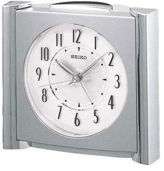 Seiko Настольные часы Seiko QXE418SN. Коллекция Интерьерные часы seiko настольные часы seiko qxj018bn коллекция интерьерные часы