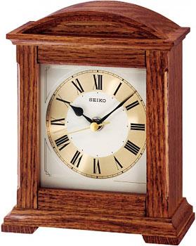 Фото - Seiko Настольные часы Seiko QXG123BN-Z. Коллекция Настольные часы часы настольные лепнина бабочка розы ажур 12 х 15 см 2757024