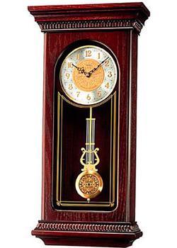 Seiko Настенные часы Seiko QXH008BN. Коллекция Настенные часы 3d настенные часы безрамные современные зеркальные металлы большие настенные наклейки часы настенные часы room home decorations