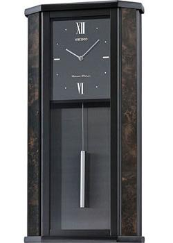 Seiko Настенные часы Seiko QXH059KN. Коллекция Интерьерные часы seiko настенные часы seiko qxc226z коллекция интерьерные часы