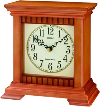 Seiko Настольные часы Seiko QXJ028AN. Коллекция Настольные часы seiko настольные часы seiko qxj028an коллекция настольные часы