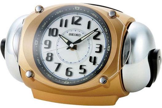 Seiko Настольные часы Seiko QXK110GN. Коллекция Интерьерные часы seiko будильник seiko qhl057wn коллекция интерьерные часы