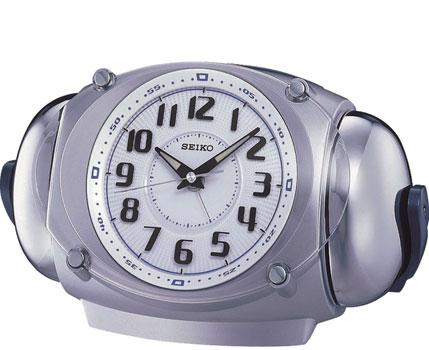 Seiko Настольные часы Seiko QXK110S. Коллекция Интерьерные часы seiko будильник seiko qhr023sn коллекция интерьерные часы