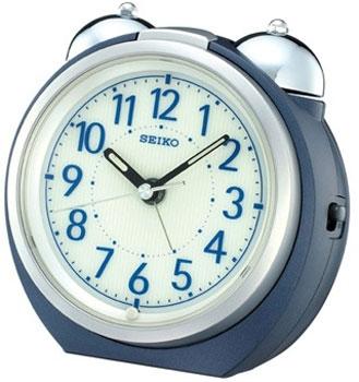 Seiko Настольные часы Seiko QXK118LN. Коллекция Интерьерные часы seiko будильник seiko qhl057wn коллекция интерьерные часы