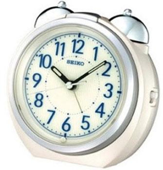 Seiko Настольные часы Seiko QXK118WN. Коллекция Интерьерные часы часы настольные magic home самолет кварцевые цвет коричневый