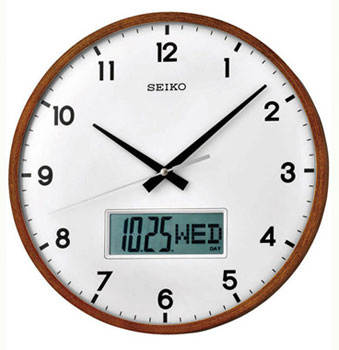 Seiko Настенные часы  Seiko QXL008BN. Коллекция Интерьерные часы seiko настенные часы seiko qxd211fn коллекция интерьерные часы