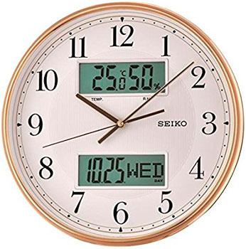 Seiko Настенные часы Seiko QXL014GN. Коллекция Настенные часы часы настенные акита 34х30 см vintage 3034 3