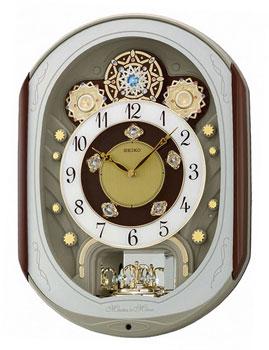 Seiko Настенные часы  Seiko QXM276BT. Коллекция Интерьерные часы seiko настенные часы seiko qxd211fn коллекция интерьерные часы