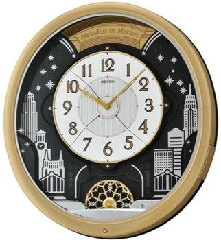 Seiko Настенные часы  Seiko QXM285GT. Коллекция Интерьерные часы seiko часы seiko srpa17j1 коллекция premier