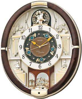 Seiko Настенные часы Seiko QXM289BT. Коллекция Интерьерные часы seiko будильник seiko qhl057wn коллекция интерьерные часы