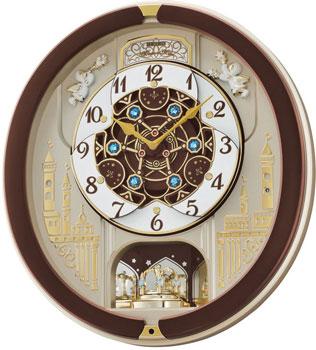 Seiko Настенные часы  Seiko QXM291BT. Коллекция Интерьерные часы seiko настенные часы seiko qxd211fn коллекция интерьерные часы