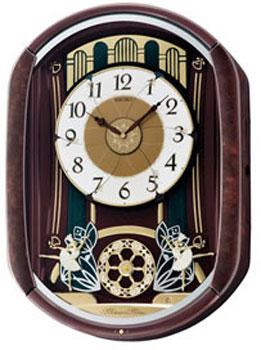 Seiko Настенные часы  Seiko QXM297BT. Коллекция Интерьерные часы seiko настенные часы seiko qxd211fn коллекция интерьерные часы