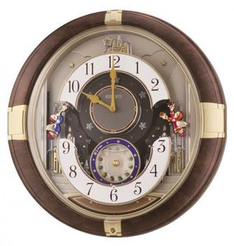 Seiko Настенные часы  Seiko QXM333B. Коллекция Интерьерные часы seiko настенные часы seiko qxd211fn коллекция интерьерные часы
