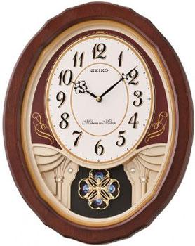 Seiko Настенные часы Seiko QXM338BN. Коллекция Настенные часы часы настенные t weid с фоторамками цвет белый 35 х 60 х 5 см