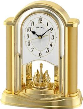 Seiko Настольные часы Seiko QXN228GT. Коллекция Настольные часы розетка lezard 702 0202 122