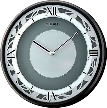 Seiko Настенные часы Seiko QXS003KT. Коллекция Интерьерные часы seiko настенные часы seiko qxa551w коллекция интерьерные часы