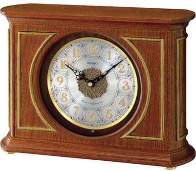 Seiko Настольные часы Seiko QXW219B. Коллекция Интерьерные часы часы настольные magic home самолет кварцевые цвет коричневый