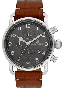 цена Sergio Tacchini Часы Sergio Tacchini ST.2.101.01. Коллекция City онлайн в 2017 году