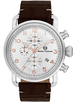 цена Sergio Tacchini Часы Sergio Tacchini ST.2.101.05. Коллекция City онлайн в 2017 году