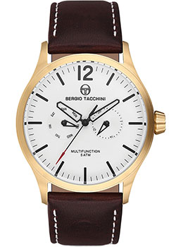 цена Sergio Tacchini Часы Sergio Tacchini ST.7.107.06. Коллекция City онлайн в 2017 году