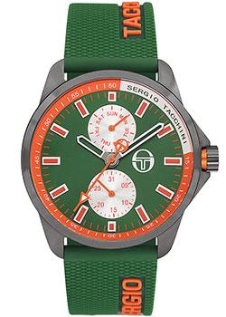 Sergio Tacchini Часы Sergio Tacchini ST.9.112.04. Коллекция Streamline бордовая футболка с принтом