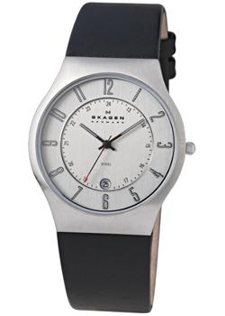 Skagen Часы Skagen 233XXLSLC. Коллекция Leather skagen часы skagen skw6143 коллекция leather
