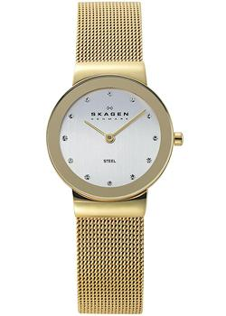 Skagen Часы Skagen 358SGGD. Коллекция Mesh lebel cosmetics cool orange scalp