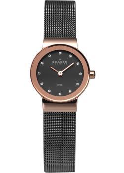 Skagen Часы Skagen 358XSRM. Коллекция Mesh skagen швейцарские наручные женские часы skagen 358xsrm коллекция mesh