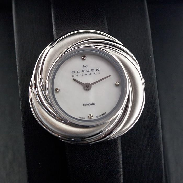 Женские часы Skagen 885SSLB Мужские часы Bisset BSDD65BIBZ05BX