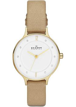 Skagen Часы Skagen SKW2146. Коллекция Leather skagen часы skagen skw6143 коллекция leather