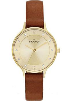 Skagen Часы Skagen SKW2147. Коллекция Leather часы nixon genesis leather white saddle