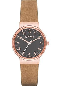 Skagen Часы Skagen SKW2189. Коллекция Leather skagen skw2189