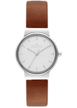 Skagen Часы Skagen SKW2192. Коллекция Leather часы nixon time teller deluxe leather navy sunray brow