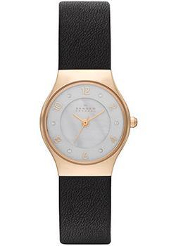 Skagen Часы Skagen SKW2209. Коллекция Leather часы nixon genesis leather white saddle