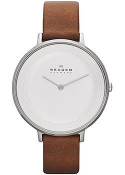 Skagen Часы Skagen SKW2214. Коллекция Leather цена
