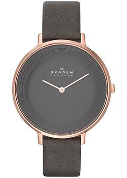 Skagen Часы Skagen SKW2216. Коллекция Leather
