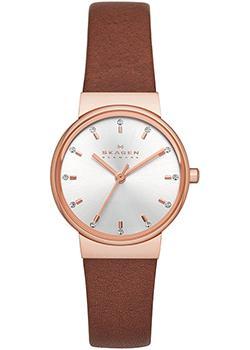 Skagen Часы Skagen SKW2260. Коллекция Leather skagen часы skagen skw2296 коллекция leather