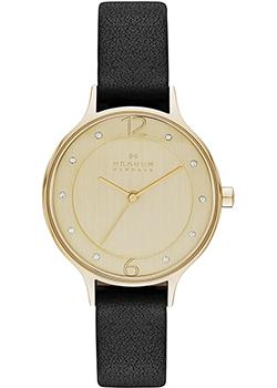 Skagen Часы Skagen SKW2266. Коллекция Leather skagen часы skagen skw2296 коллекция leather