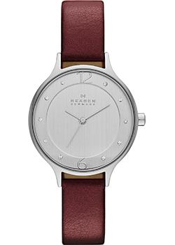 Skagen Часы Skagen SKW2275. Коллекция Leather skagen часы skagen skw6292 коллекция leather