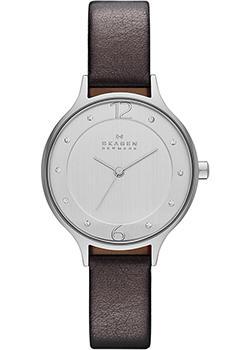 Skagen Часы Skagen SKW2276. Коллекция Leather skagen часы skagen skw2296 коллекция leather