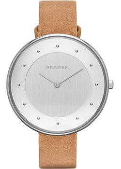 Skagen Часы Skagen SKW2326. Коллекция Leather цена и фото