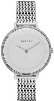Skagen Часы Skagen SKW2332. Коллекция Mesh skagen швейцарские наручные женские часы skagen 358xsrm коллекция mesh