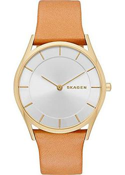 Skagen Часы Skagen SKW2344. Коллекция Leather skagen часы skagen skw2189 коллекция leather