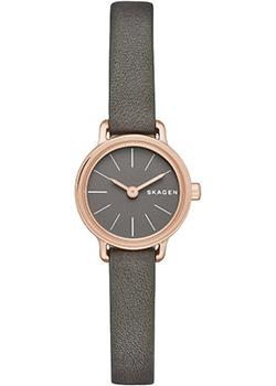 Skagen Часы Skagen SKW2359. Коллекция Leather skagen часы skagen skw2262 коллекция leather