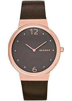 Skagen Часы Skagen SKW2368. Коллекция Leather часы nixon time teller deluxe leather navy sunray brow