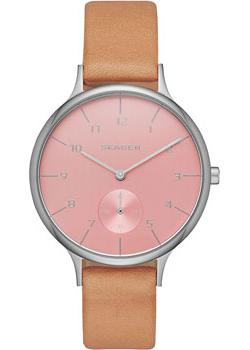 Skagen Часы Skagen SKW2406. Коллекция Leather skagen часы skagen skw6143 коллекция leather