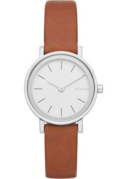Skagen Часы Skagen SKW2440. Коллекция Leather skagen часы skagen skw2296 коллекция leather
