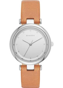 Skagen Часы Skagen SKW2455. Коллекция Leather skagen часы skagen skw6143 коллекция leather
